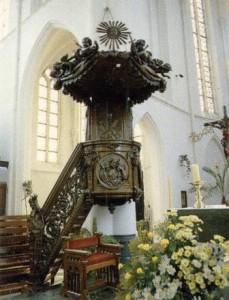 Preekstoel  1738
