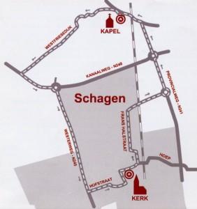 Route kapel de Keins Schagen